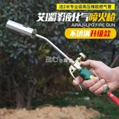熱風槍液化氣噴火槍煤氣噴槍家用高溫燒豬毛搶天然氣噴燈噴火器燒肉焊槍   走心小賣場220v