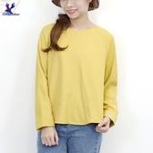 【秋冬新品】American Bluedeer - 袖口文字繡上衣 二色
