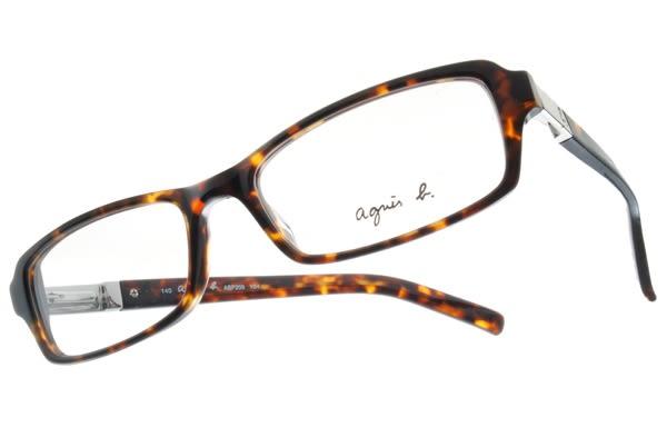 agnes b.光學眼鏡 ABP209 Y04 (氣質琥珀) 簡約時尚熱賣鏡框 # 金橘眼鏡