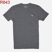 AF A&F Abercrombie & Fitch A & F 男 當季最新現貨 短袖T恤 AF R843