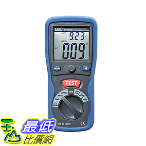 [106玉山最低比價網] CEM華盛昌 高精確性專業接地電阻測試儀 DT-5300B