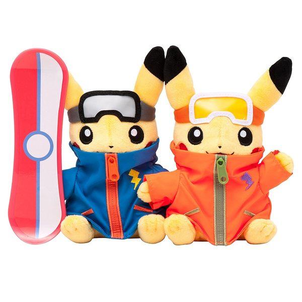 【小福部屋】日本 皮卡丘 對偶 (2016年12月) 情侶 婚禮 情人節 交換禮物 對偶玩具【新品上架】