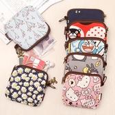 零錢包女小錢包迷你可愛韓國鑰匙包布藝帆布小包包學生硬幣零錢袋 免運費