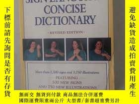 二手書博民逛書店American罕見Sign Language Concise DictionaryY24886 Martin