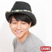 CHUMS 日本 造型風格紳士草帽 迷彩黑 CH051015K001