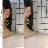 耳環 原創手作復古文藝星星小鳥造型氣質長款耳環無耳洞耳夾耳飾女 唯伊時尚