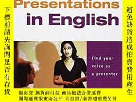 二手書博民逛書店Presentations罕見in English: Stude