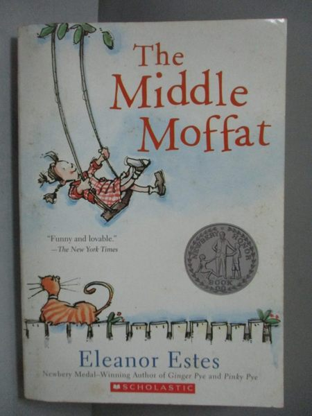 【書寶二手書T6/原文小說_ISY】The Middle Moffat_Eleanor Estes