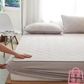 單件床包 純棉床笠夾棉加厚床墊保護罩防滑固定床罩【匯美優品】