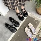 皮鞋 可愛少女心蝴蝶結百搭女鞋2021新款學院風瑪麗珍鞋原宿風小皮鞋潮 618狂歡