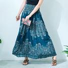【潘克拉】印度花卉長裙-F TM921 ...