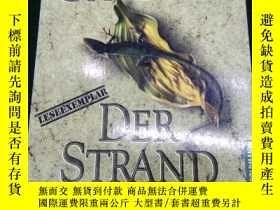 二手書博民逛書店【德語】罕見原版德文小說 《 Der Strand 》 Alex