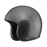 SOL安全帽,AO1,黑/銀蔥