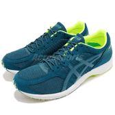 Asics 慢跑鞋 Tartherzeal 6 虎走 綠 黃 輕量 男鞋 競速跑鞋 運動鞋【PUMP306】 T820N401