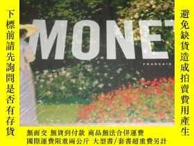 二手書博民逛書店英文罕見Monet L Expo Fl 莫奈 小本 xga34Y