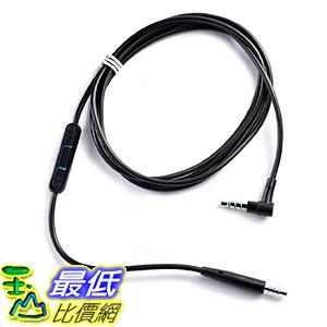 [美國直購] Bose Quiet 720875-0010 連接線 Comfort 25 Headphones Inline Mic/Remote Cable for Apple devices - Black