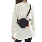 L- adidas ROUND WAIST BAG 側背包 腰包 圓形腰包 休閒 潮流 黑橘 FL9617