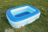 嬰兒充氣游泳池家用兒童加厚超大號戲水池成人家庭寶寶保溫洗澡桶igo「夢娜麗莎精品館」