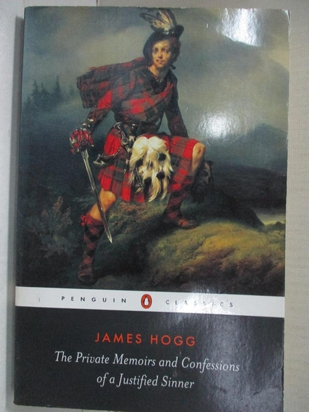 【書寶二手書T1/原文小說_GBJ】The Private Memoirs and Confes..._James Hogg