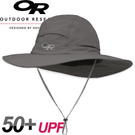 【Outdoor Research 美國 SOMBRIOLET SUN HAT防曬透氣圓盤帽〈灰〉】243441/防曬帽/遮陽帽/登山