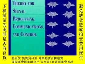 二手書博民逛書店Lessons罕見In Estimation Theory For Signal Processing Commu