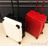 網紅行李箱女韓版小清新拉桿箱萬向輪男復古密碼旅行箱子新款WD 晴天時尚館
