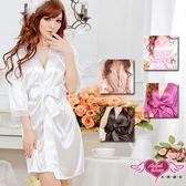 性感罩衫 出清促銷 35折+滿千折百 冰絲情趣綁帶外罩睡衣 角色扮演 天使甜心Angel Honey