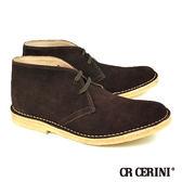 【CR CERINI】都會風格麂皮短靴-深咖啡(208-DBR)