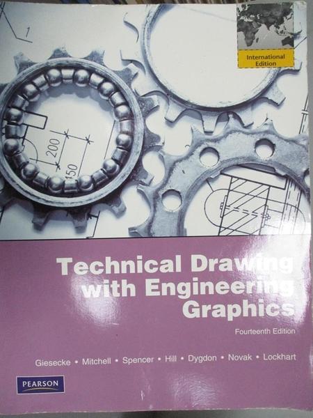 【書寶二手書T1/大學理工醫_HMZ】TECHNICAL DRAWING WITH ENGINEERING GRAPHICS 14/E_GIESECKE
