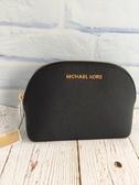 美國MICHAEL KORS  (MK)紋防刮 小貝殼造型 手拿包 黑色 **限時搶購 現貨