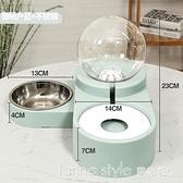 貓咪飲水機狗狗喝水自動喂食器不插電流動不濕嘴神器水盆寵物用品 Lanna YTL