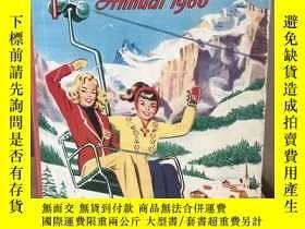 二手書博民逛書店Girls 罕見Crystal Annual 1960 黑白彩色