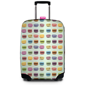 SUITSUIT 行李箱保護套 經典設計款-馬卡龍 indulgence 寵愛自己