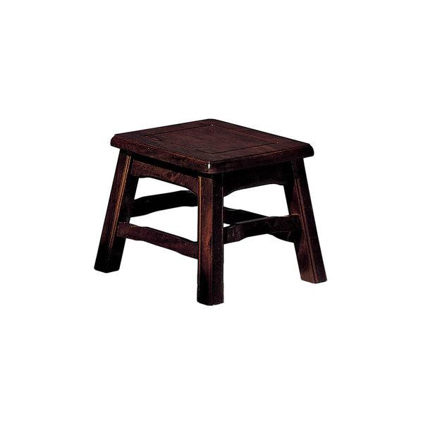 【森可家居】中式復古實木方古矮椅凳 7SB354-2 DIY自行組裝