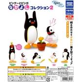 正版 TAKARA TOMY 企鵝家族2 PINGU 扭蛋 轉蛋 擺飾 全套5款 COCOS TU002