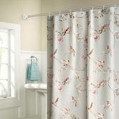 米蘭 高檔加厚浴簾浴室掛簾子防水防霉免打孔衛生間窗簾布隔斷門簾
