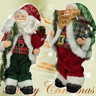 站立聖誕老人擺件