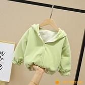 女寶寶外套女童春裝嬰兒童2021年新款洋氣時髦春秋款1一3歲網紅潮【小橘子】