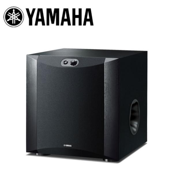 【春季特賣下殺↘分期0利率】YAMAHA NS-SW300 超低音喇叭 原色黑 高效能功率擴大機 台灣公司貨