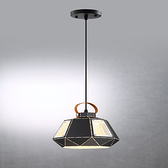 HONEY COMB 露營風皮革層次單吊燈 小款 TA7484R