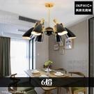 INPHIC-北歐LED燈吊燈後現代簡約餐廳臥室客廳燈具裝潢-6燈_WUEs