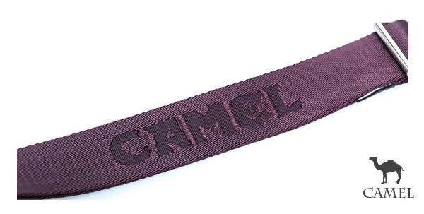 CAMEL - 英倫極簡風超質感牛皮薄型輕便隨身側背包