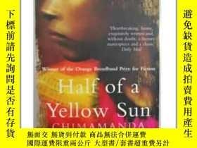 二手書博民逛書店半輪黃日罕見Half of a Yellow SunY21066 Chimamanda Ngozi Adich