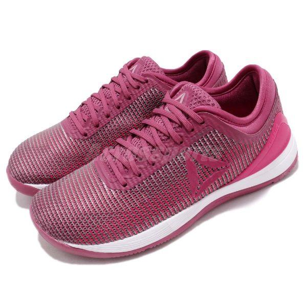 Reebok 訓練鞋 R CrossFit Nano 8.0 粉紅 白 健身專用 運動鞋 女鞋【PUMP306】 CN2978