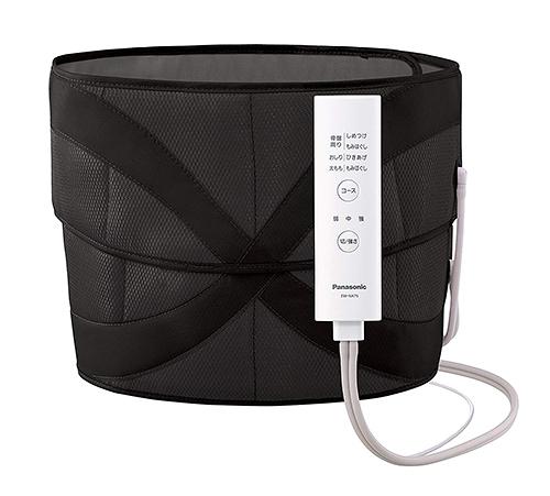Panasonic【日本代購】松下 空氣按摩器 腰臀部 EW-NA75-黑