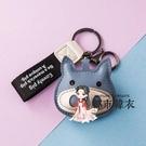 包包掛飾 豬鑰匙扣掛件創意汽車個性可愛女士鑰匙鍊鎖匙圈環