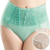 思薇爾-撩波系列M-XXL高腰三角修飾褲(貝沙金)