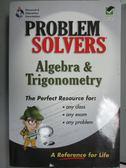 【書寶二手書T7/科學_ZHU】Algebra and Trigonometry Problem Solver: A C