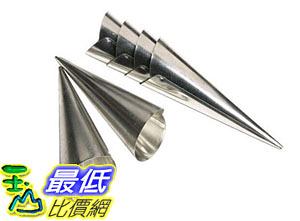 [105美國直購] Fox 4508 錐形模具 麵包烘培工具 Run Cream Horn Molds Set of Six B0000CFMSP