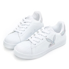 PLAYBOY 閃閃霓光貝殼小白鞋 -白銀(Y7221)